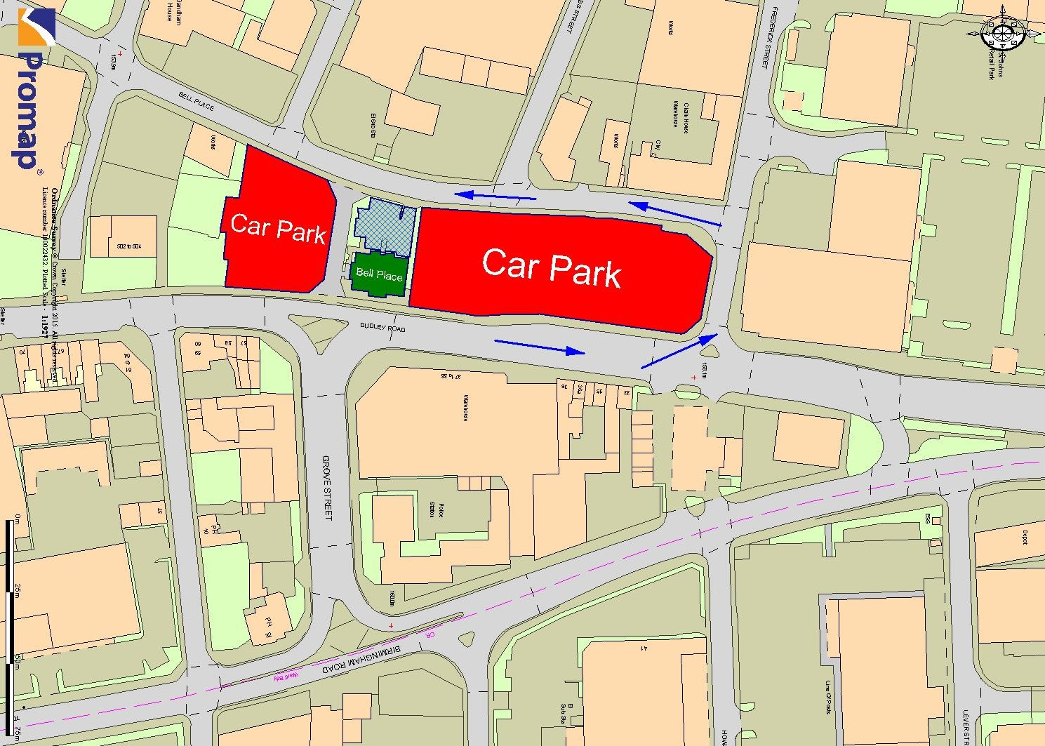 Car Parking Plan Wolverhampton
