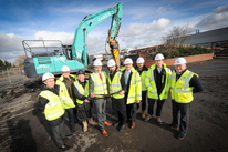 Ground Breaks On Multimillion Pound Speculative Development In Black Country