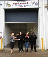 Car key specialist creates news jobs after move into Black County industrial unit